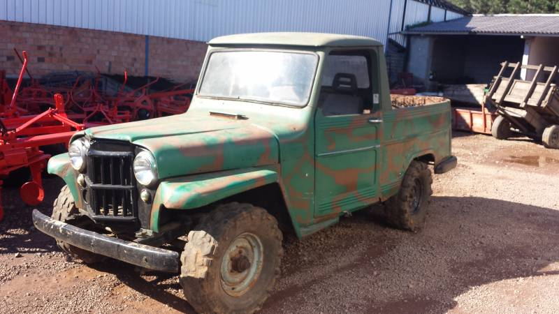 RURAL WILLYS - VENDIDO